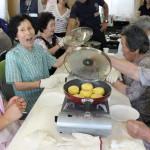 宮城県亘理町でのパン教室のようす